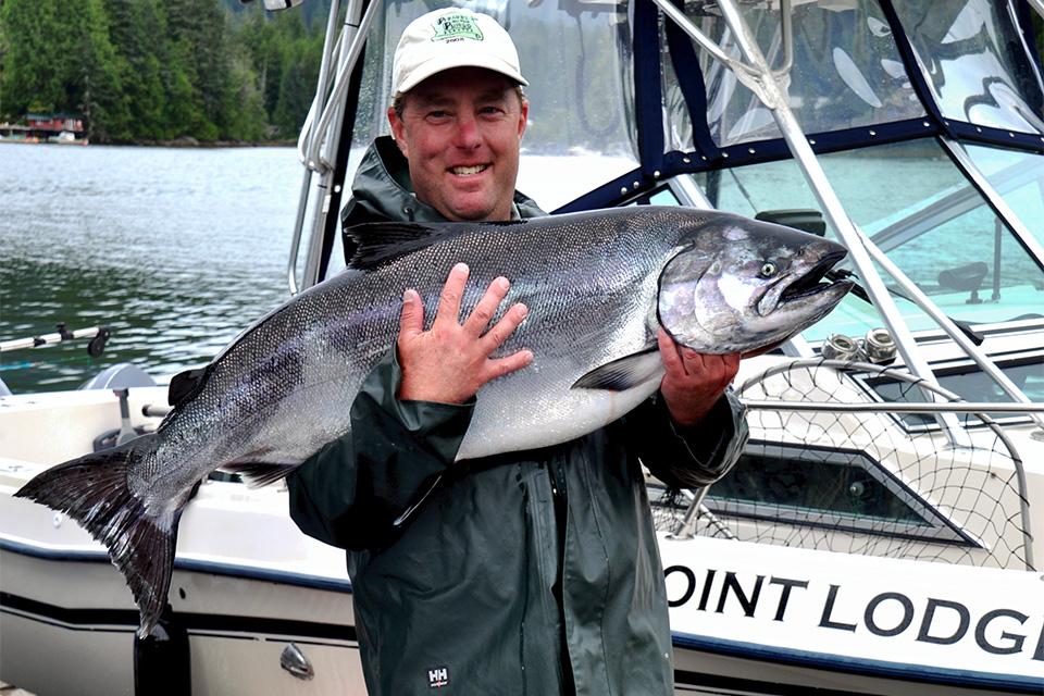 Salmon Fishing in BC